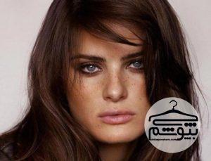 ۲۳ طیف از رنگ موی قهوه ای برای انواع رنگ پوست