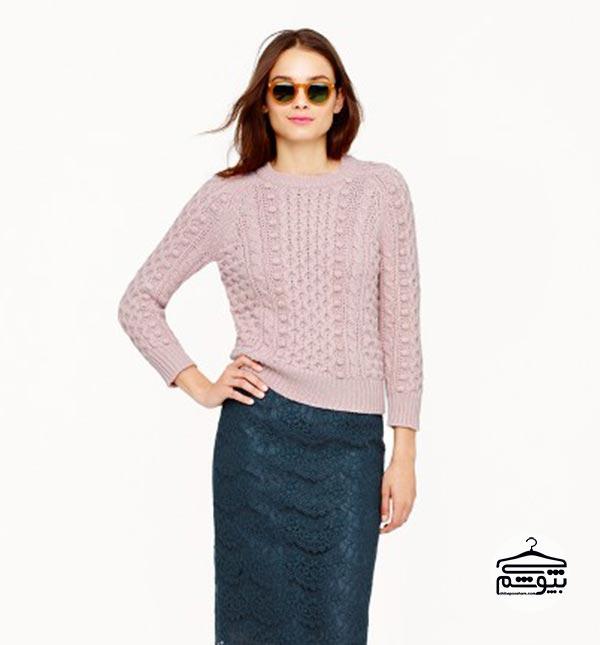 لباس زنانه مناسب برای خانم هایی که بالا تنه کوچک دارند