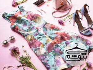 لباس زنانه مناسب برای خانم هایی که بالاتنه کوچک دارند