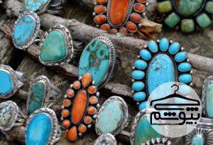جدیدترین جواهرات فیروزه ای برای خانمهای خوش تیپ