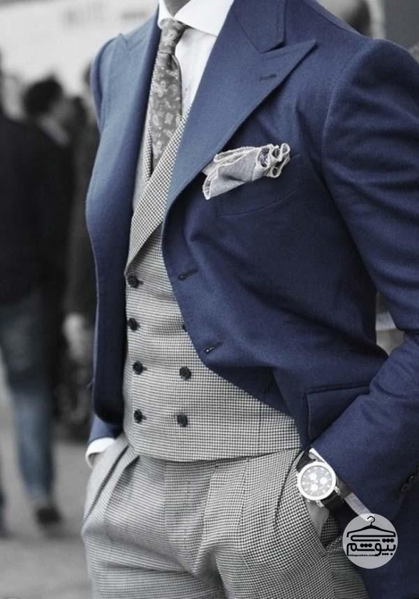 راه و روش ست کردن پیراهن مردانه مجلسی سفید