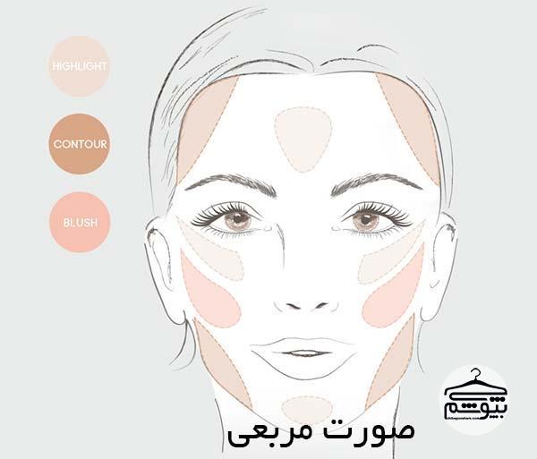 کانتورینگ برای فرم های مختلف صورت را صحیح و اصولی یاد بگیرید