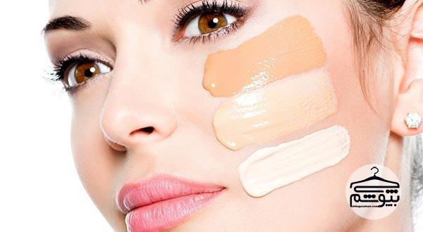 آرایش صورت ، 9 گام تا زیر سازی پوست صورت