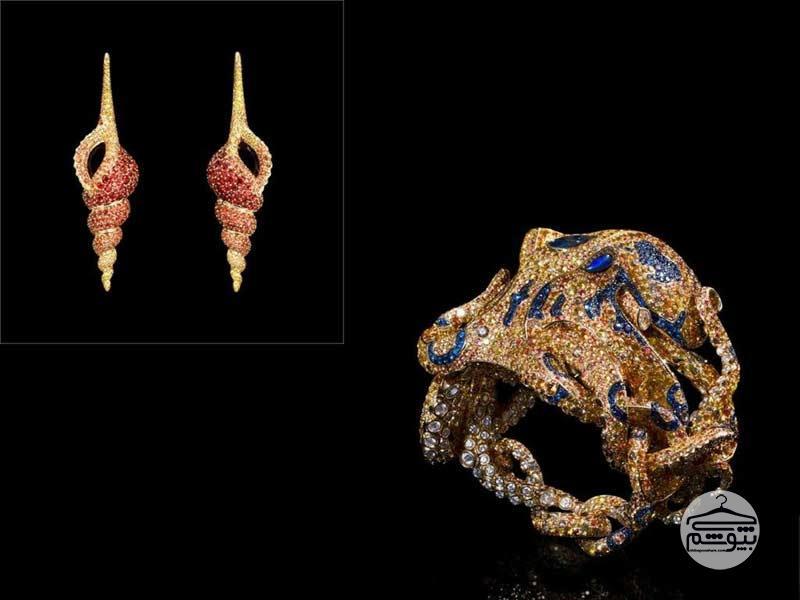 جدیدترین مدل سرویس جواهر از اعماق دریا