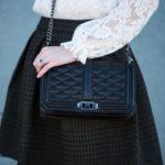 ۱۵ مدل کیف بند دار مشکی زنانه از برندهای مشهور