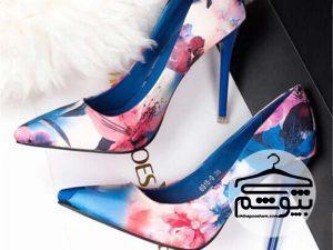۱۰ مارک معروف از کفش گلدار زنانه