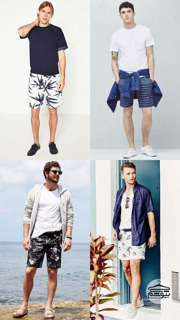 لباس تابستانی مردانه برای کنار ساحل دریا