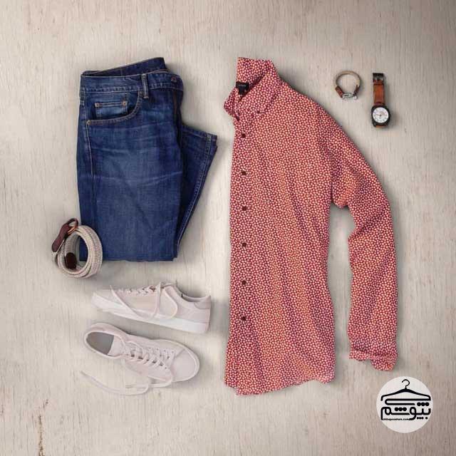 پیراهن و شلوار مردانه شیک