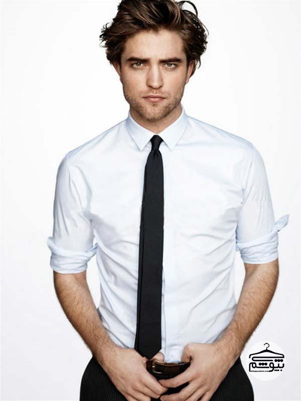 پیراهن مناسب کراوات باریک