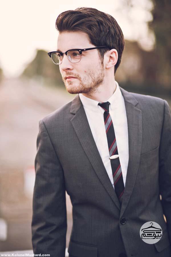 کراوات مردانه باریک