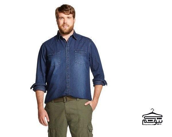 راهنمای خرید لباس سایز بزرگ برای آقایان