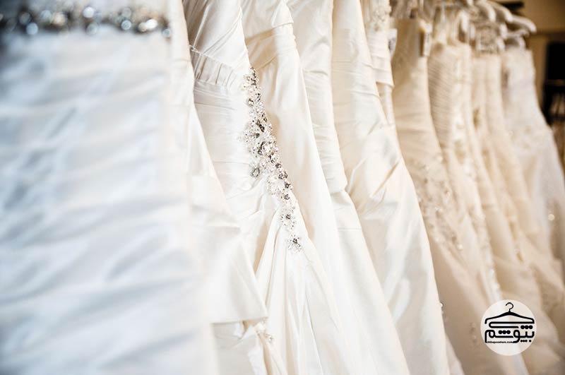 پارچه هایی که در دوخت لباس عروس کاربرد دارند