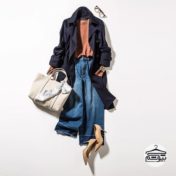 نحوه ست کردن شلوار جین فاق بلند با لباس ها