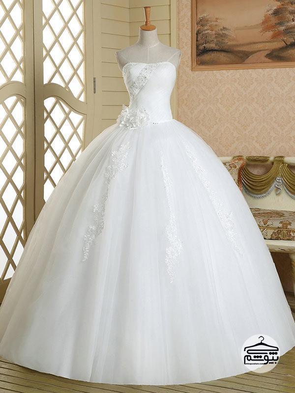 انتخاب صحیح لباس عروس سایز بزرگ