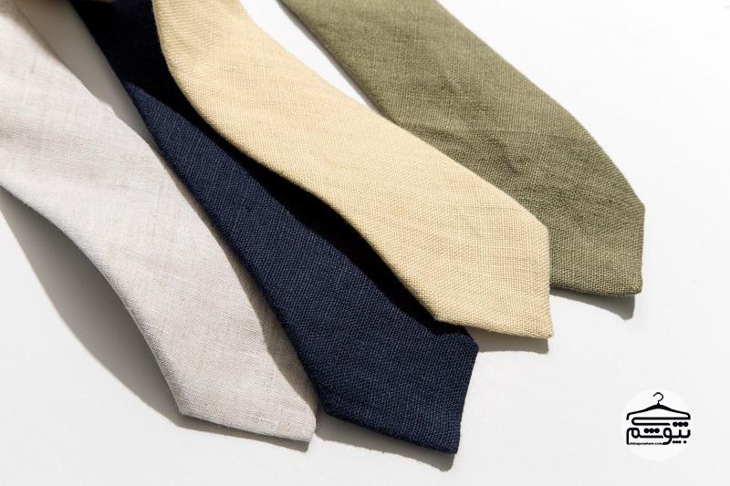 برای هر فصل چه جنس کراوات مناسب است؟
