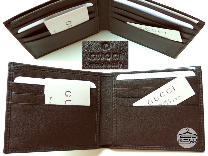 راه تشخیص کیف پول گوچی اصل از تقلبی