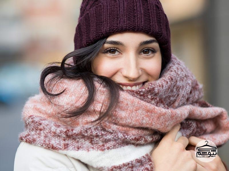 دستورالعمل و نکات شستن شال و روسری زمستانی