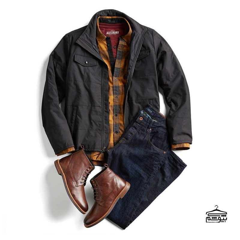 ست لباس گرم مردانه