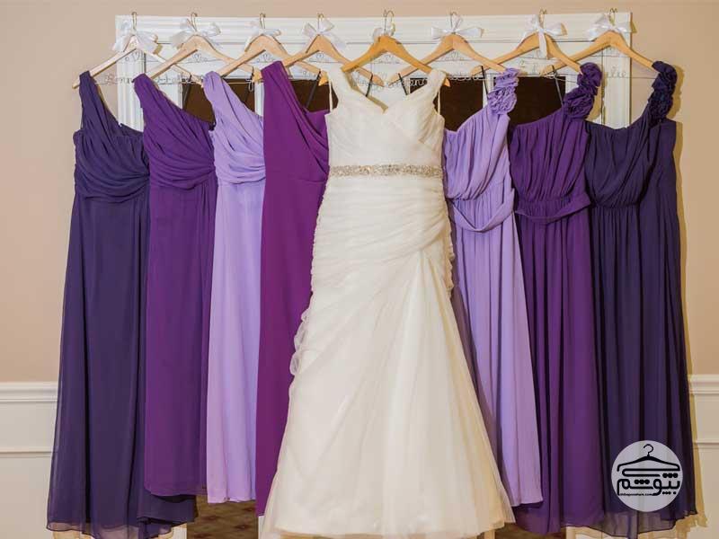لباس بنفش شیک : معرفی چند مدل لباس مجلسی بنفش برای دختر خانمها