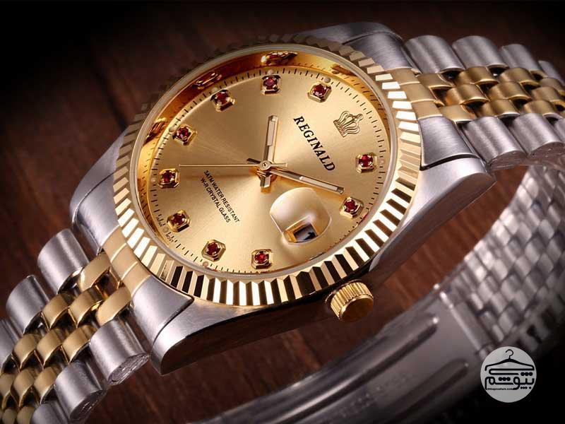 بهترین مدل ساعت مچی طلایی مردانه به انتخاب چی بپوشم