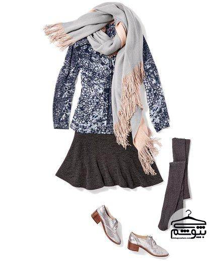 لباس زمستانی زنانه ۹۶ را اینگونه ست کنید