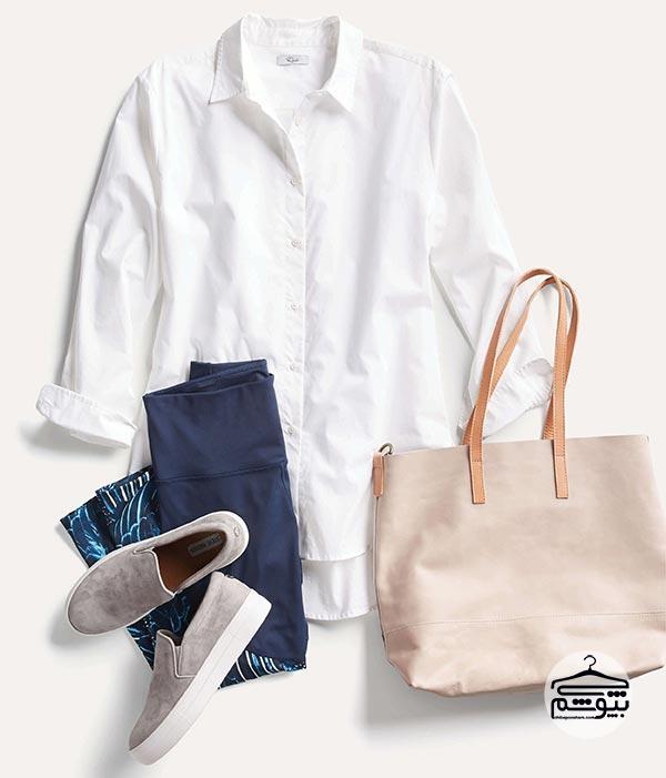کمد خود را از لباسهایی با رنگهای خنثی پر کنید!