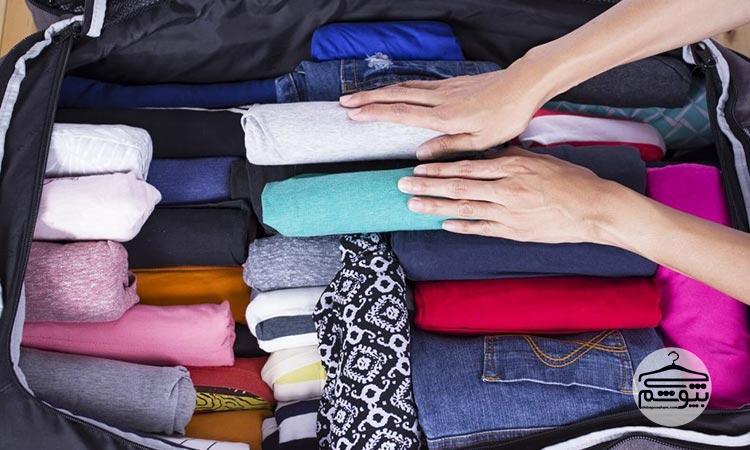 ترفندهای بستن چمدان سفر : چگونه چمدان سفر ببندیم ؟