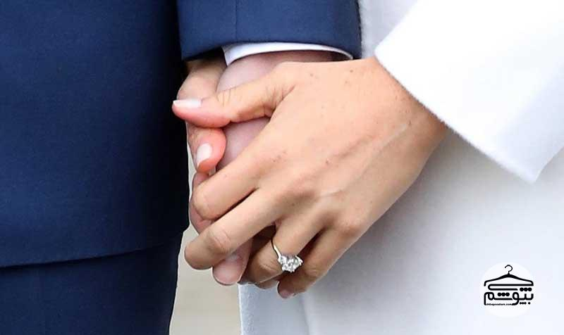 عکس حلقه ازدواج مگان مارکل توجه همه را به خود جلب کرد