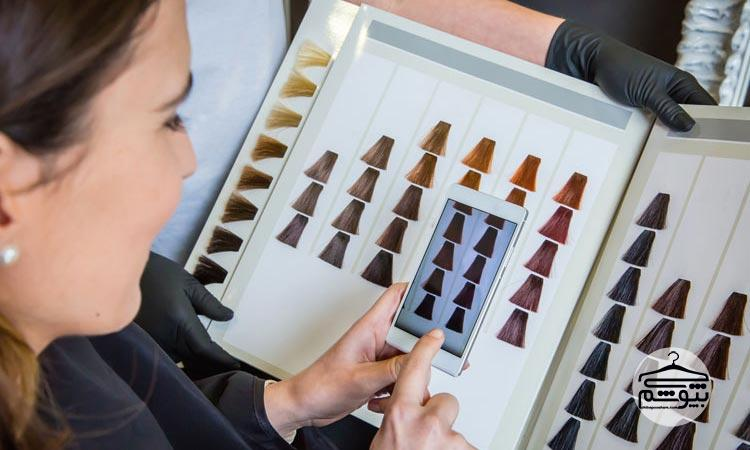 رنگ کردن مو : راهنما و ساده ترین روش های رنگ کردن مو در خانه
