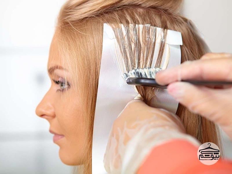 نکات و آموزش رنگ کردن مو در خانه