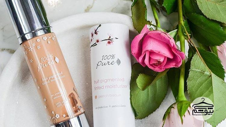لوازم آرایش ارگانیک برند ۱۰۰% Pure
