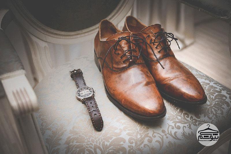 رنگ کفش داماد