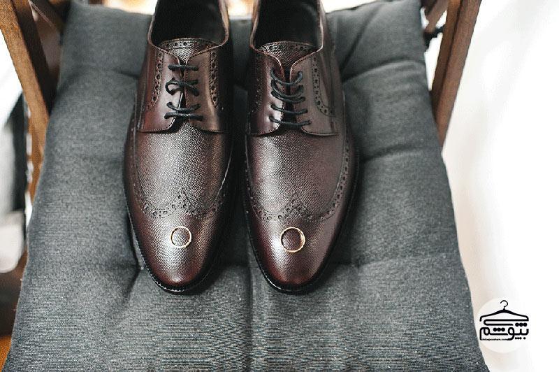 کفش داماد مدل آکسفورد