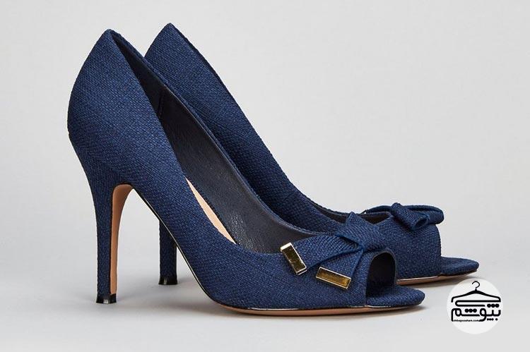 کفش پاشنه بلند جلو باز