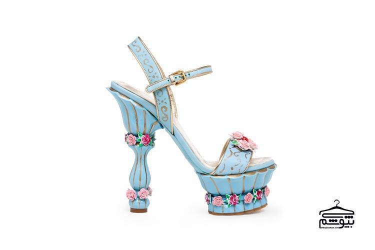 کفش پاشنه فانتزی
