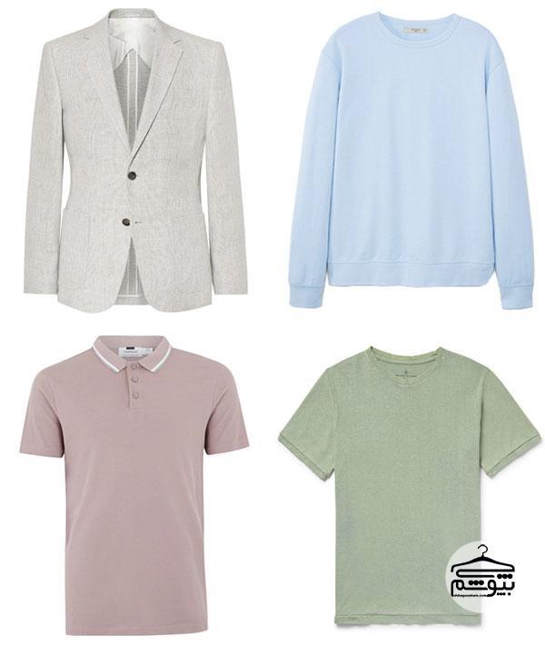 رنگ های روشن مخصوص مردان در تابستان و بهار