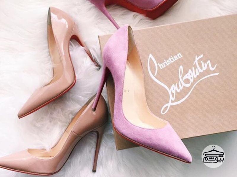 راه تشخیص کفش کریستین لوبوتین اصل از تقلبی