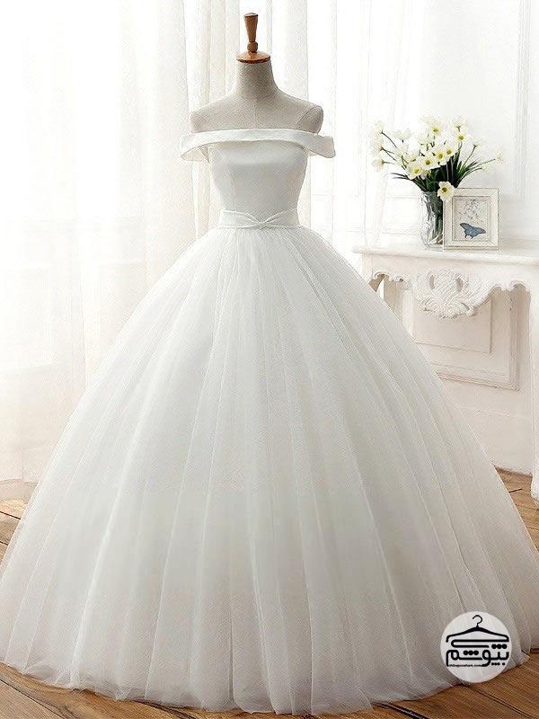 پارچه لباس عروس جنس تور