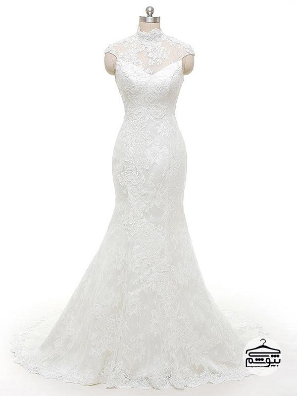 پارچه لباس عروس جنس ارگانزا
