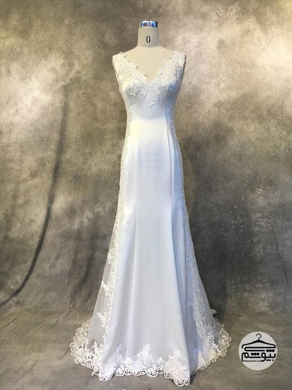 پارچه لباس عروس جنس ساتن