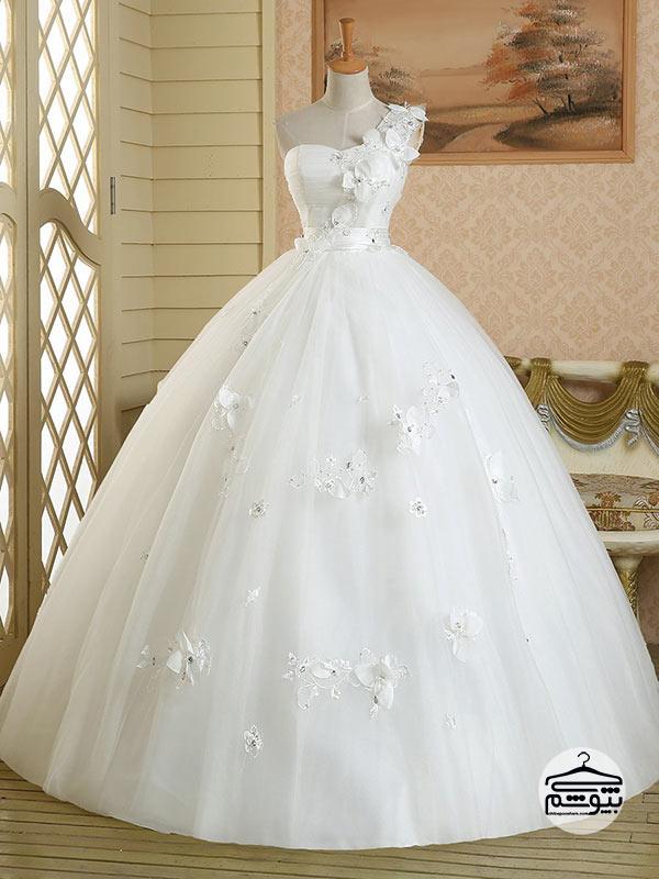 بهترین رنگ برای لباس عروس سایز بزرگ