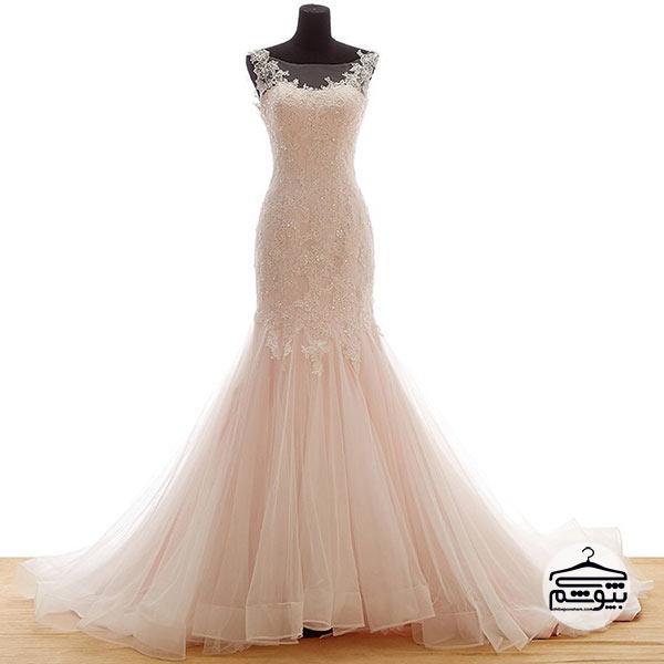 انتخاب لباس عروس سایز بزرگ متناسب با رنگ پوستتان