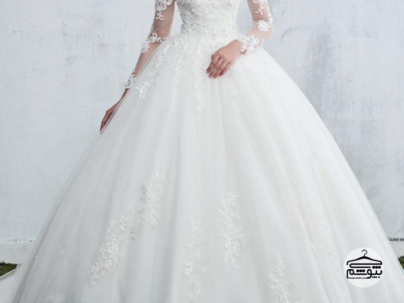 راهنمای انتخاب و خرید لباس عروس سایز بزرگ