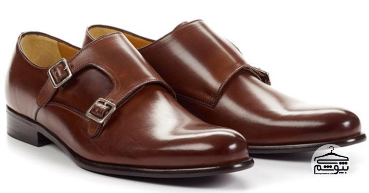 کفش مانک استرپ مدل کلاسیک
