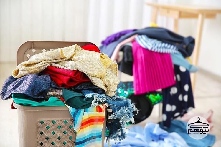 پاک کردن لکه رنگ از روی لباس ها
