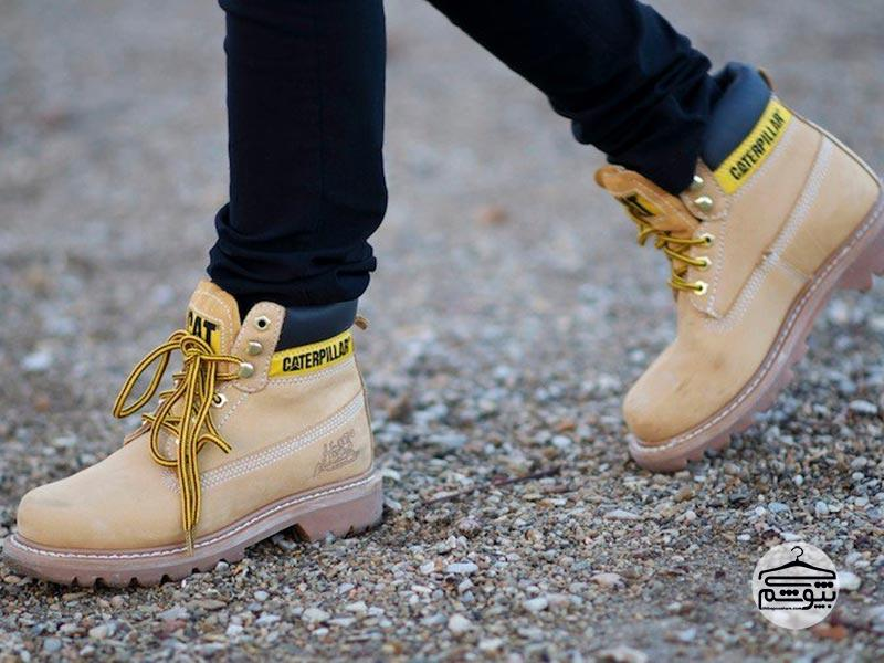 ۷ نکته برای تشخیص کفش کاترپیلار اصل از تقلبی