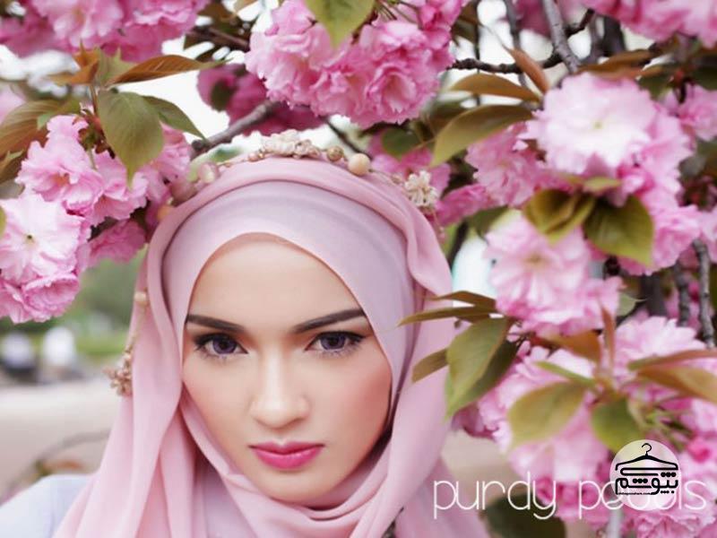 معرفی برند شال و روسری Purdy Petals