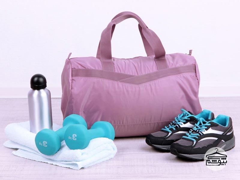 وسایل ضروری برای کیف باشگاه بدن سازی