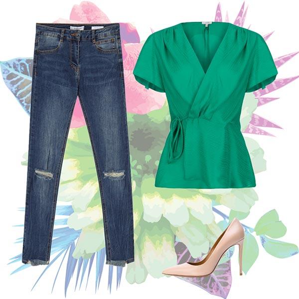 بهار چی بپوشیم؛ 4 ست لباس زنانه با پیراهن های رنگی