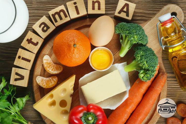 ویتامین آ درمان ریزش مو